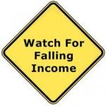 Falling Income